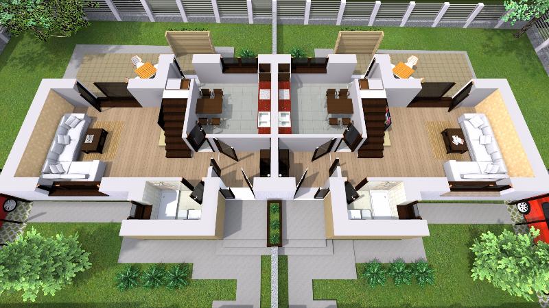 Casa noi Iasi, tip duplex, parter