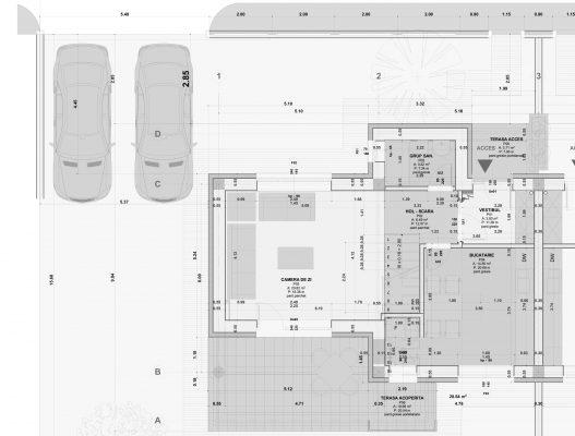 plan parter - complex rezidential tip duplex iasi